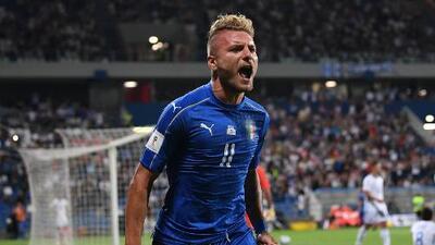 Italia se encomienda a Immobile para vencer a Israel