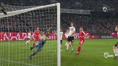 Goles con los que Alemania y Serbia igualaron 1-1 en partido amistoso