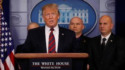 """""""Sin muro no hay seguridad fronteriza"""", reitera Trump luego de que los demócratas retomaran el mando de la Cámara de Representantes"""