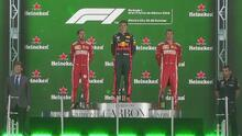 ¡Espectacular! El GP de México también se lució con su ceremonia de premiación