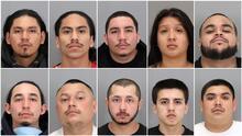 Así arrestaron a una pandilla dedicada al secuestro y robo de herramientas de jardinería