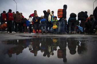 Las trágicas cifras de un nuevo informe de la ONU en fotos: 71 millones de desplazados por la violencia
