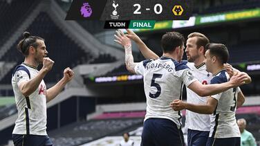 Tottenham está firme en la Europa League tras vencer a los Wolves