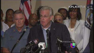 El gobernador de Missouri declara estado de emergencia y toque de queda en Ferguson