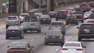 Prepárate para este fin de semana feriado en Chicago: se espera congestión en el tráfico