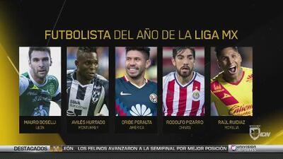 Premios Univision Deportes: Futbolista del año de la Liga MX
