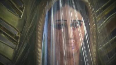 Aseguran que de una imagen de la Virgen de Guadalupe brota lágrimas de sangre