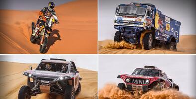 El norteamericano Ricky Brabec sigue de líder del Dakar - Día 6