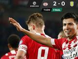 El PSV con Erick Gutiérrez venció al RKC Waalwijk