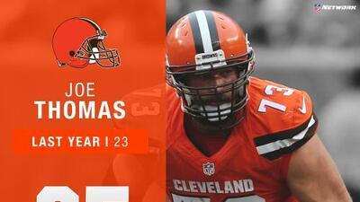 #25: Joe Thomas (OT, Browns) | Top 100 Jugadores 2017