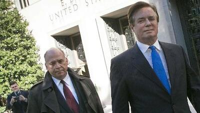 Paul Manafort y Rick Gates comparecerán en corte este jueves tras arresto domiciliario