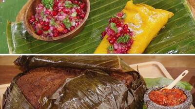 Guerra de tamales: hallacas de la chef Lorena García vs. zacahuil del chef Chile Mayor