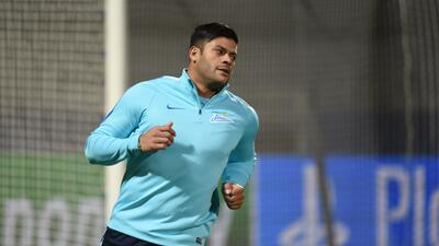 Hulk engaña al portero con un 'truco' para anotar un penal