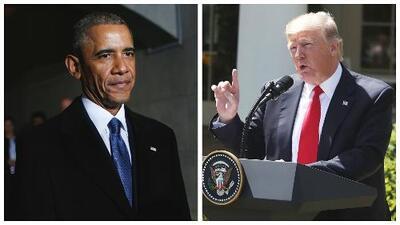 ¡Contradictorio! El trino de Donald Trump en el que pidió a Barack Obama no atacar a Siria