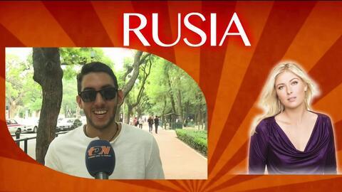 ¿En qué piensan los mexicanos cuando se les nombra la palabra Rusia?