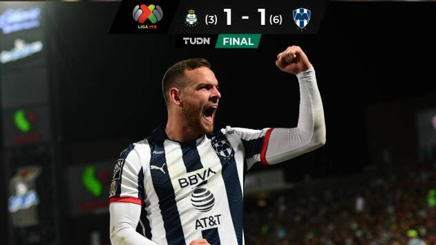 ¡Adiós al líder! Monterrey elimina a Santos Laguna