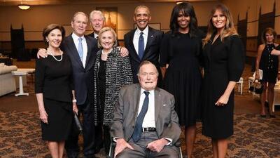 George Bush padre vuelve a ser hospitalizado