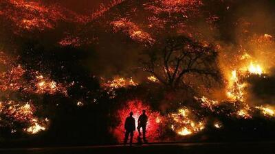Lo perdieron todo en los incendios que arrasan el sur de California, pero están dispuestos a empezar de cero