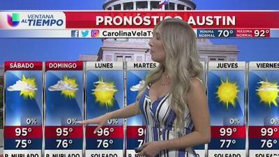 Fin de semana soleado y caluroso para el centro de Texas