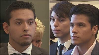 Los hijos biológicos de Juan Gabriel y su hermano Iván Aguilera, reunidos por primera vez en una corte de Florida