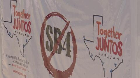 La caravana 'Juntos–Together' llega a Houston para proveer información importante a la comunidad inmigrante