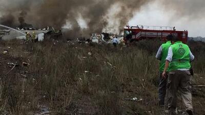 Un avión de Aeroméxico se accidenta en Durango, no hubo fallecidos