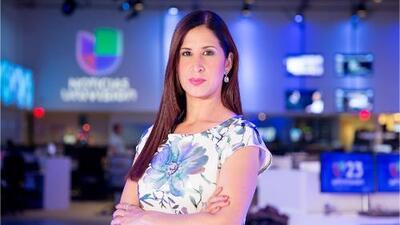 """Periodista venezolana asilada: """"Si le hacen esto a Jorge Ramos, imagínate lo que les pasa a otros periodistas en Venezuela"""""""