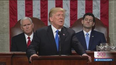 Resumen del primer mensaje a la nación bajo la presidencia de Donald Trump