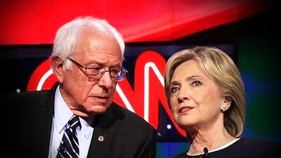 ¿En quién creen menos los votantes: CNN o Hillary Clinton?