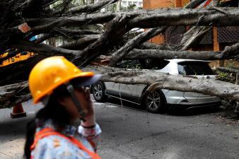 """""""Dio mucho miedo"""": un fuerte terremoto sacude Taiwán generando pánico en toda la isla"""