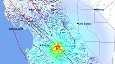 USGS reporta nuevo sismo de magnitud 4.7 con epicentro al sur de la Bahía de San Francisco