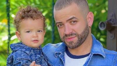 En pañales y sin ayuda: el hijo menor de Nacho logra su primera hazaña