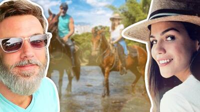 Entre montañas y a caballo: así han sido las vacaciones de Karina Banda y Carlos Ponce