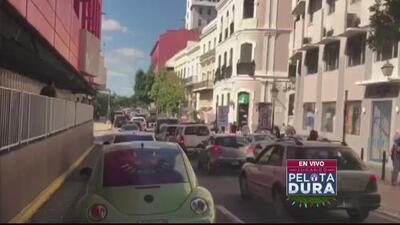 Tapón provoca caos en el viejo San Juan