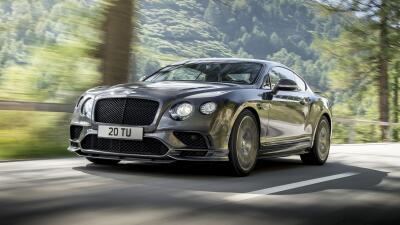 Este es el Continental GT Supersports, el Bentley más poderoso de todos los tiempos