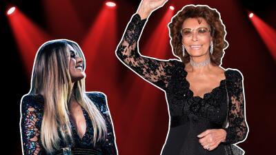 Así fue el encuentro de Galilea Montijo con su ídolo Sophia Loren