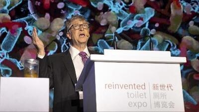 Bill Gates crea un novedoso inodoro que no necesita agua y el cual podría mejorar la vida de millones de personas