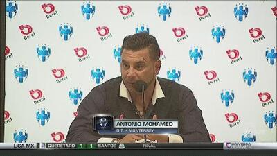 """Antonio Mohamed: """"Estamos fuera de la clasificación, lejos de todo"""""""