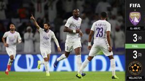 En dramáticos penales, Al-Ain eliminó a Team Wellington en inicio del Mundial de Clubes