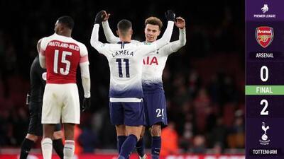Tottenham eliminó al Arsenal en la Capital One Cup y avanzó a semifinales