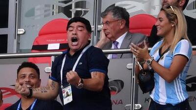 """Diego en relación a Lionel Messi: """"Maradona hay uno solo, dejen de hinchar las pelo…"""""""