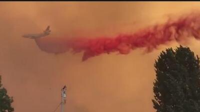 El estado de los incendios en California este lunes por la mañana