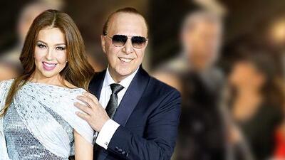 Thalía le declara su amor a un hombre que no es su esposo (los celos de Tommy Mottola se despertaron de inmediato)