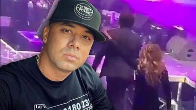 Vive para contarlo: Wisin sufrió una aparatosa caída al terminar el show en San Antonio