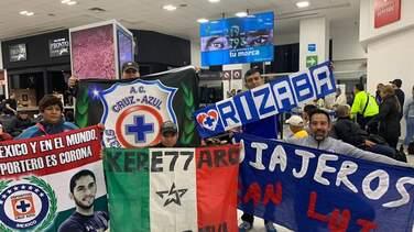 ¡Eso es amor! 60 aficionados del Cruz Azul viajan a Jamaica