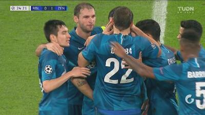 ¡Al rinconcito, papá! Magnifico gol de Rakitski de media distancia para adelantar al Zenit