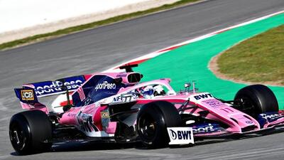 'Checo' Pérez y la Fórmula 1 encienden motores para la temporada de 2019