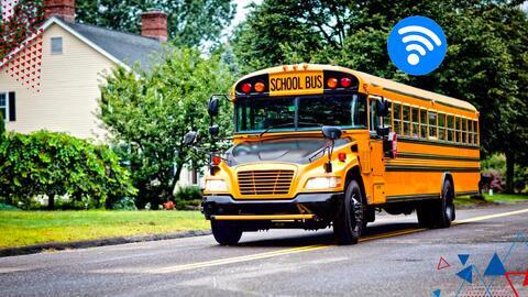 Omar y Argelia difieren por el Wifi en los buses escolares