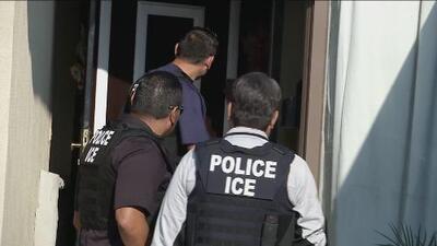 Así es una redada migratoria de ICE en California