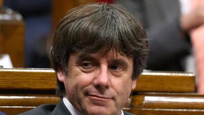 El presidente cesado de Cataluña defiende participar en las elecciones convocadas por el gobierno español